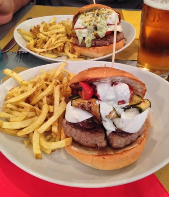 Panini con hambirger Baobab Burger