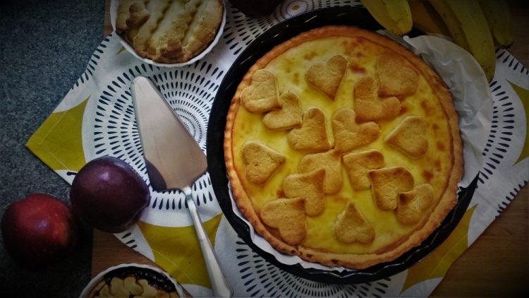 dolci light crostata integrale con crema al limone